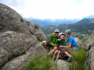 When Dan isn't dreaming about his next big climb, he can usually be found adventuring or lounging around with his wife Bronwyn and son Rhys.  Watch for Bronwyn and Rhys to be featured in 2014's notable ascents!